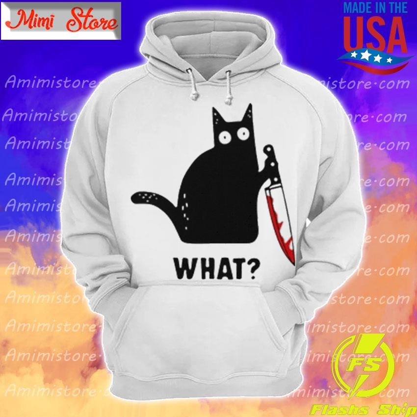 Michael Myers Black Cat what Halloween s Hoodie