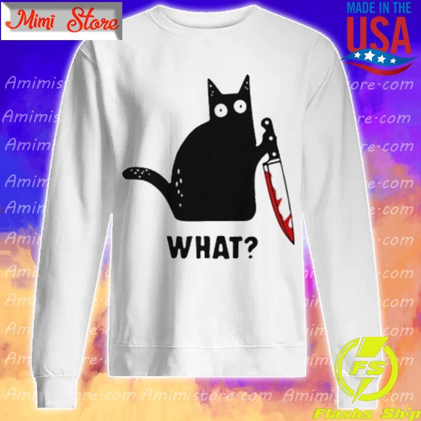 Michael Myers Black Cat what Halloween s Sweatshirt