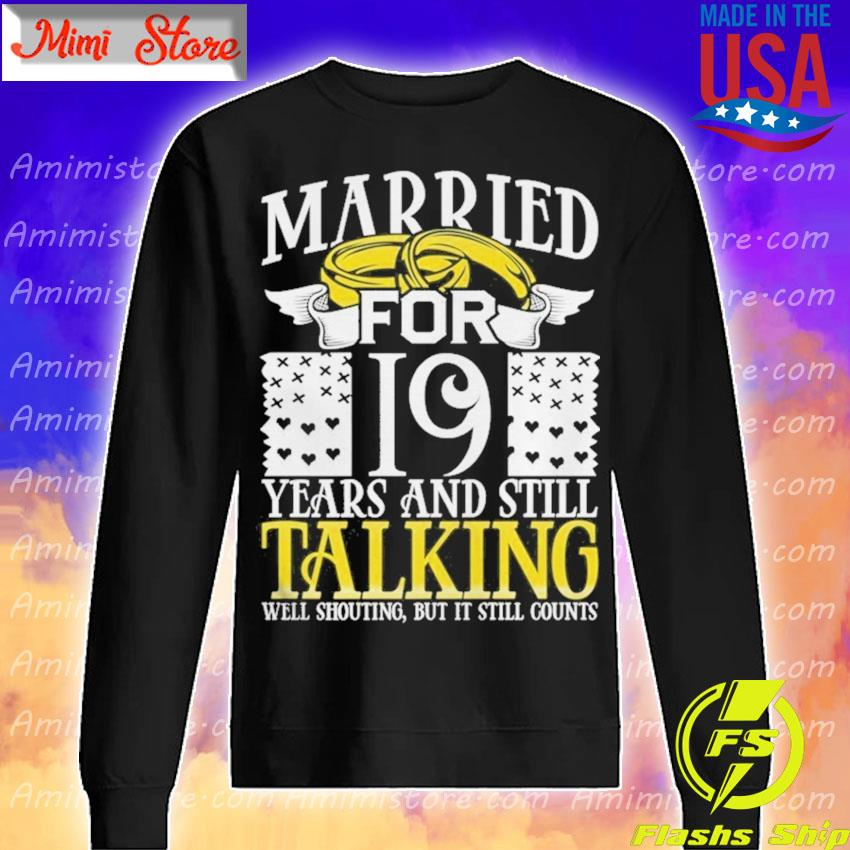 19th Wedding Anniversary for Wife Her Marriage s Sweatshirt