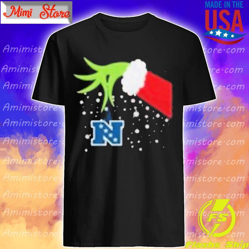 2020 Grinch Hand National Football Conference Merry Christmas Shirt Shirt