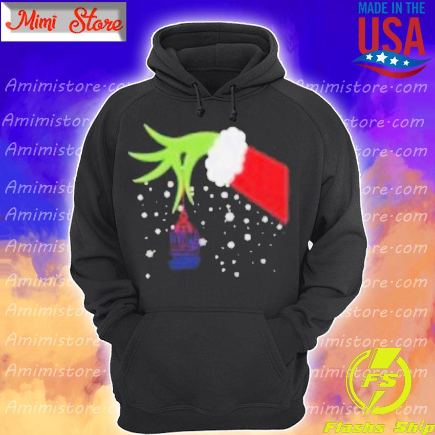 2020 Grinch Hand New York Giants Football Merry Christmas Shirt Hoodie