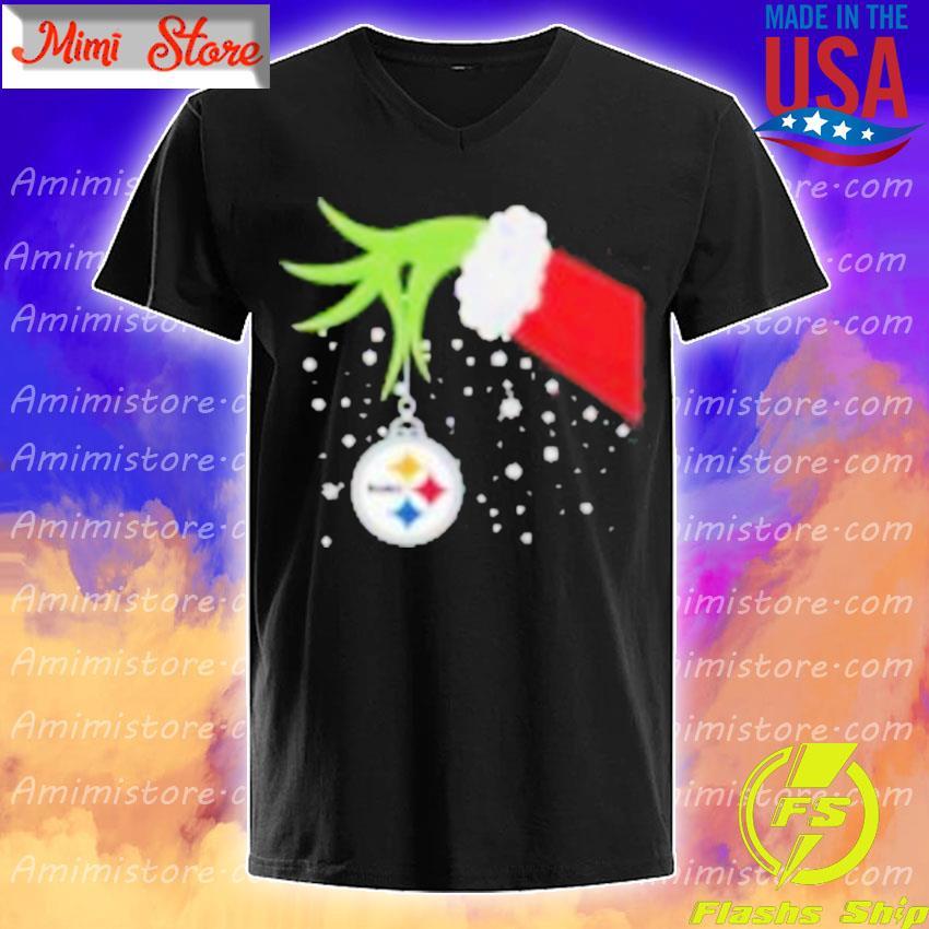 Grinch Hand Pittsburgh Steelers Merry Christmas 2020 Shirt