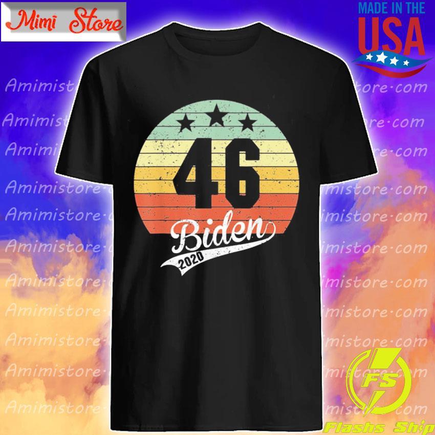 Joe Biden 46th President 2020 Election Celebrate Biden 46 vintage s Shirt