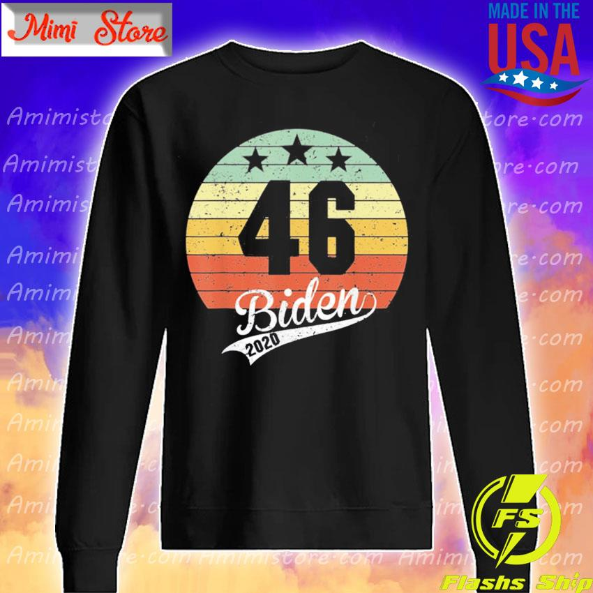 Joe Biden 46th President 2020 Election Celebrate Biden 46 vintage s Sweatshirt