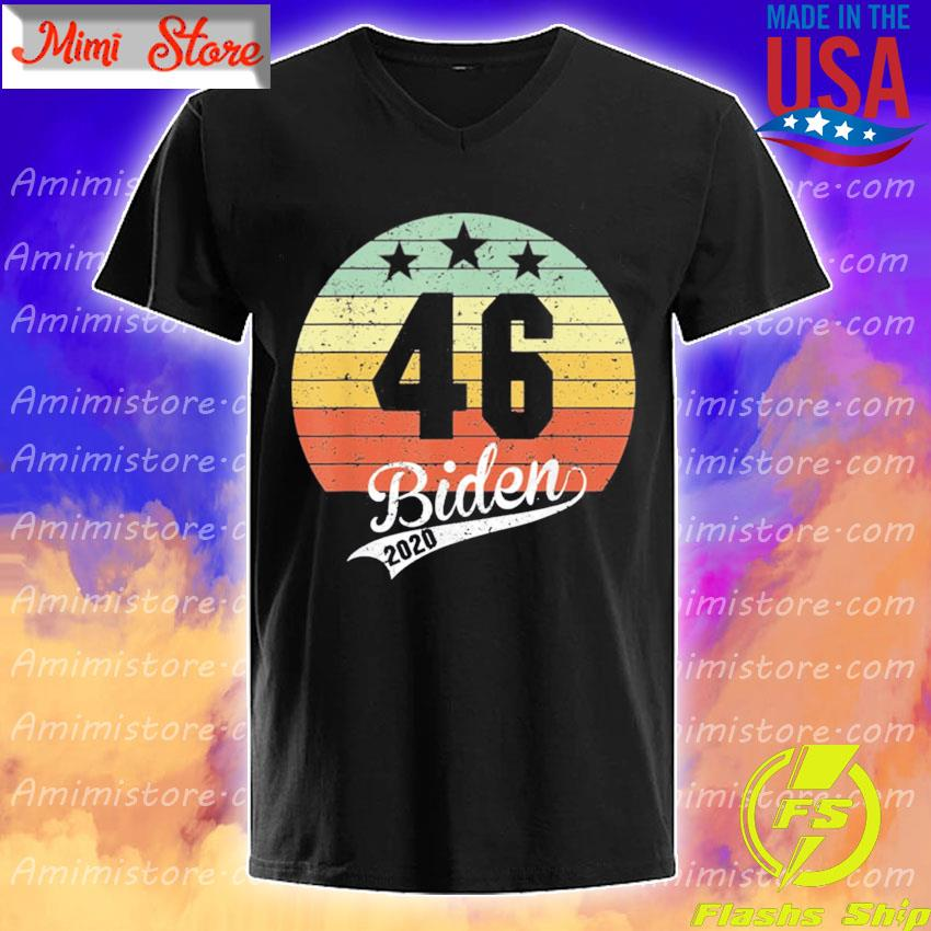 Joe Biden 46th President 2020 Election Celebrate Biden 46 vintage shirt