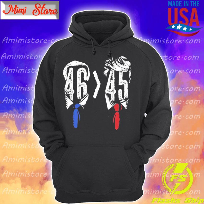 Joe Biden Harris 2020 Victory Over Trump Funny Math s Hoodie