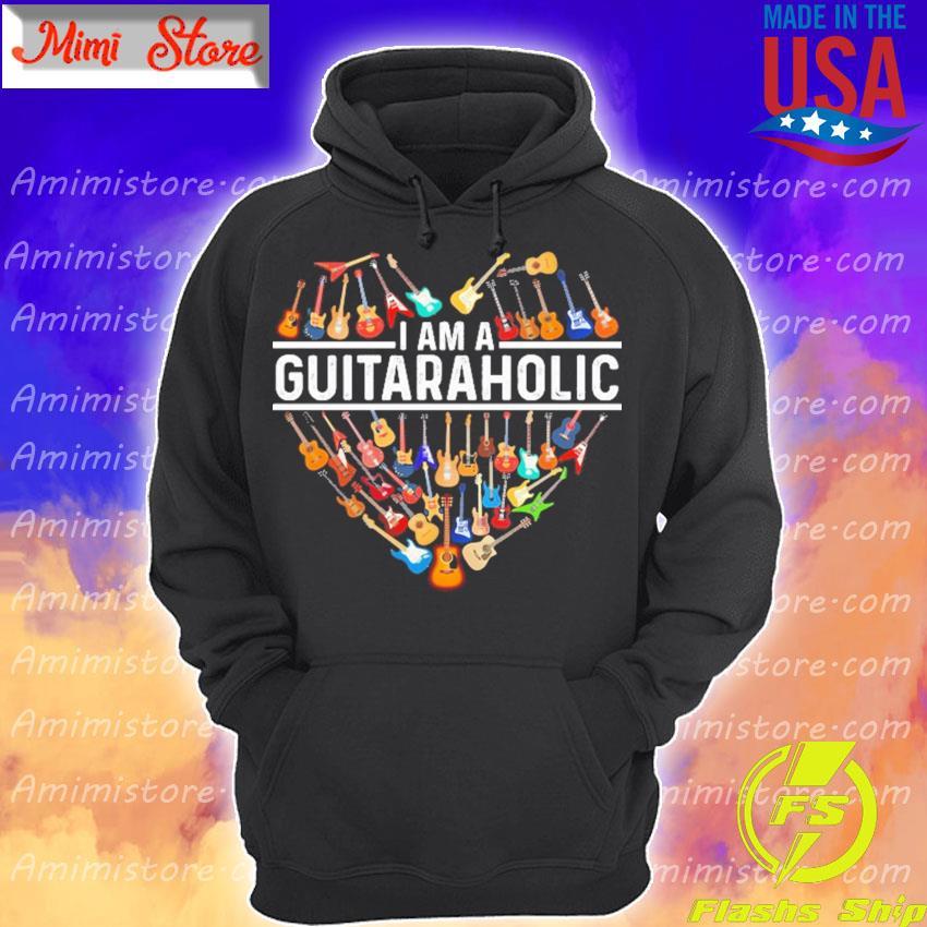 Official I am a GuitarAholic Heart 2020 s Hoodie