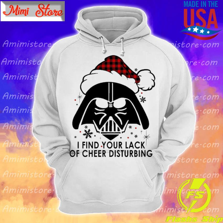 Santa Darth Vader I find your lack of cheer disturbing Christmas s Hoodie