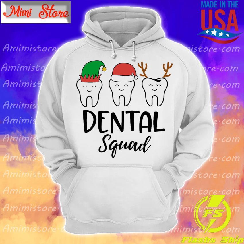 Teeth Santa Reindeer Dental squad Christmas s Hoodie